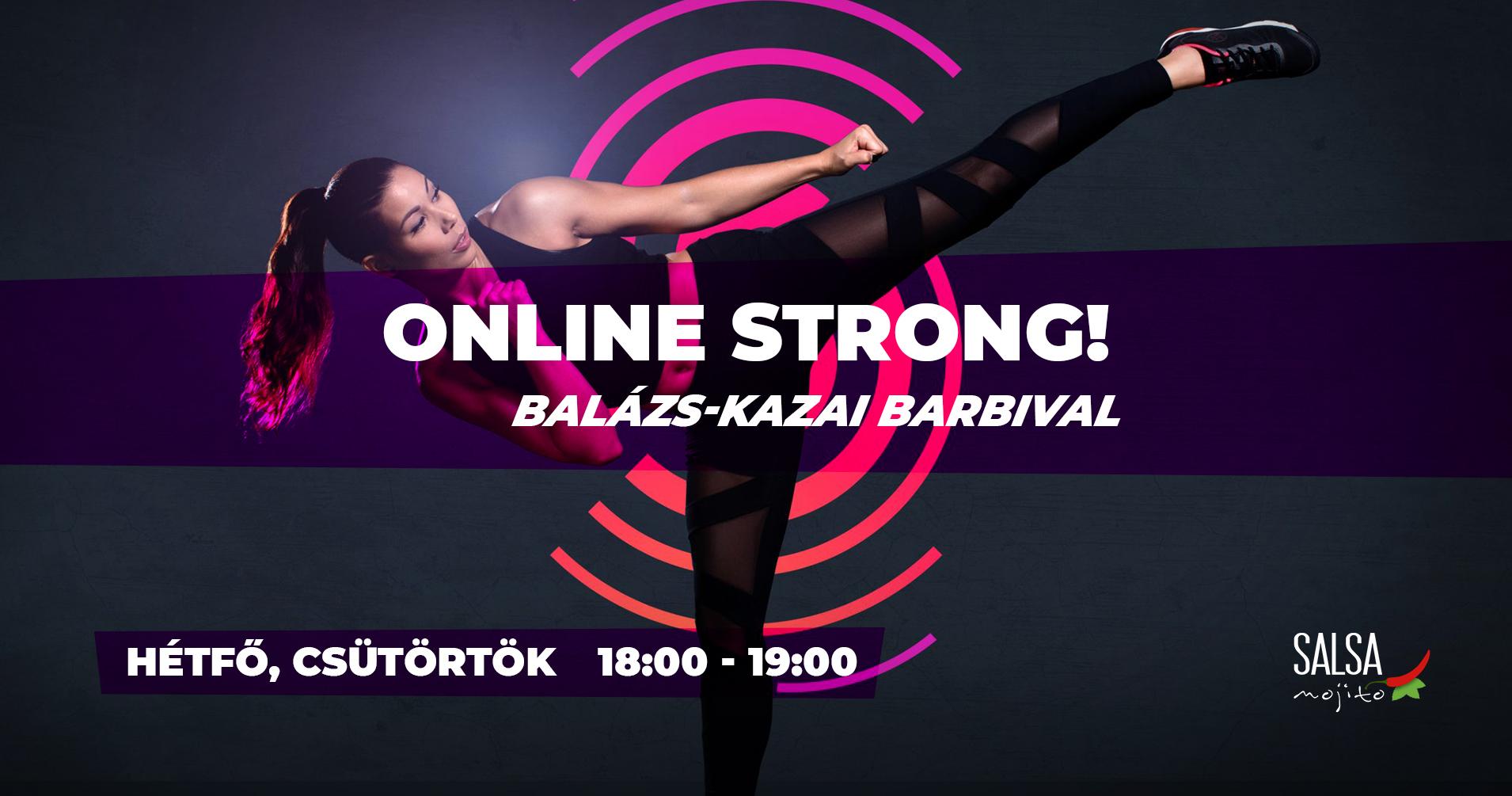 Online zumba órák 2020 november Strong
